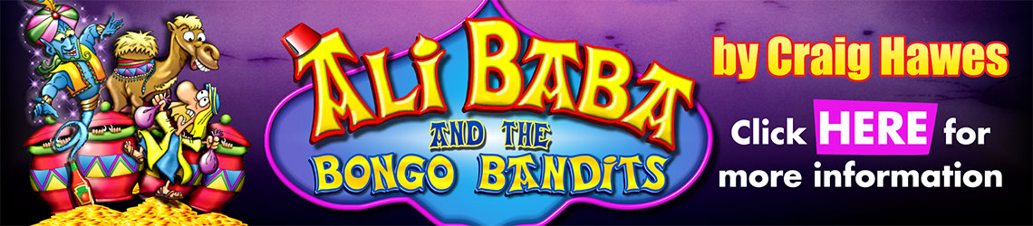 Ali Baba And The Bongo Bandits by Craig Hawes
