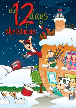 The Twelve Days Of Christmas (Without Nativity) Cover