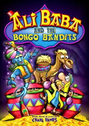 Ali Baba And The Bongo Bandits (Upper Junior Production) Cover