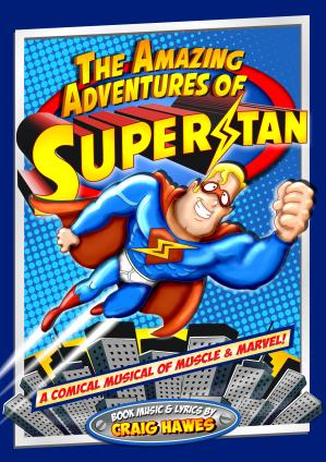 The Amazing Adventures of Superstan Cover