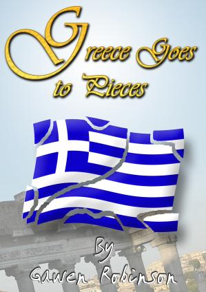 Greece Goes To Pieces Cover
