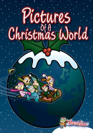 Pictures Of A Christmas World Cover