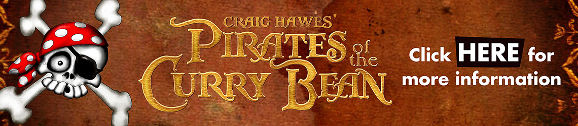 Pirates Of The Curry Bean by Craig Hawes